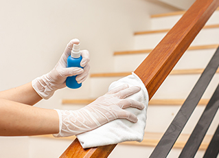 Keep your home and surroundings clean